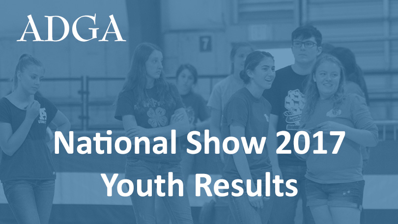 2017 Youth Show Results