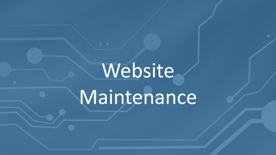 Website Maintenance November 26